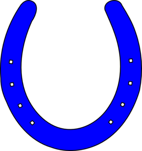bright blue horseshoe clip art at clker com vector clip art online rh clker com horseshoe clipart black and white horseshoe clipart black and white