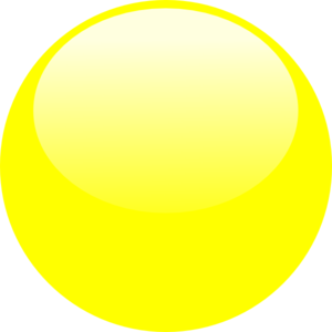 Bubble Yellow Clip Art