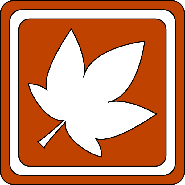 orange leaf clip art - photo #45