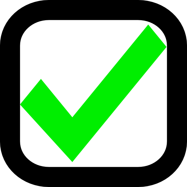 nxt checkbox checked ok clip art at clker com vector clip art rh clker com empty checkmark box clipart empty checkmark box clipart