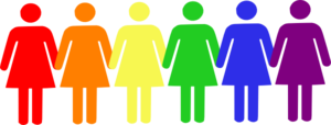 Female Pride  Clip Art