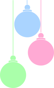 Christmas Ornaments 2 Clip Art