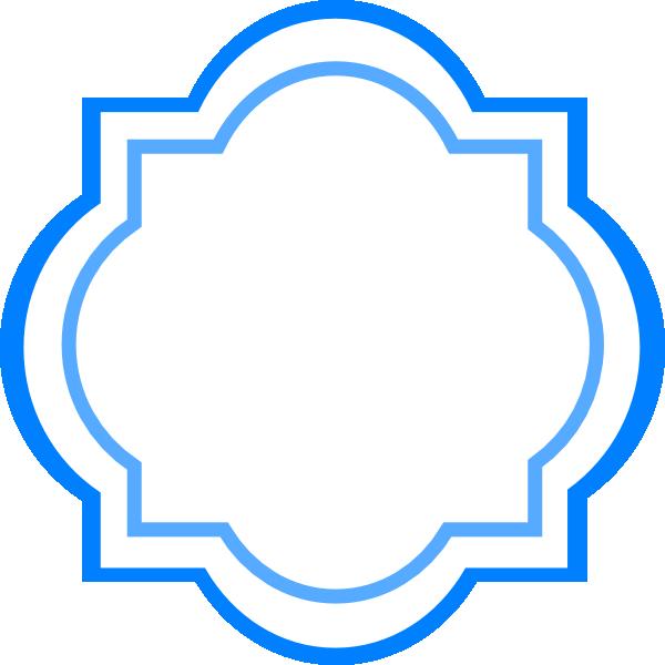 Blue Fancy Label Clip Art at Clker.com - vector clip art ...