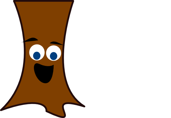 Tree Trunk Face Clip Art at Clker.com - vector clip art ...