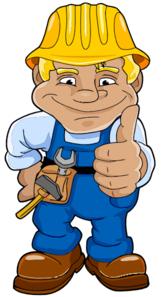blue worker clip art at clker com vector clip art online royalty rh clker com worker clip art free working clip art free