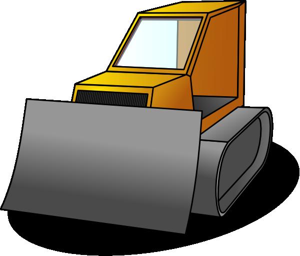 Bulldozer Clip Art at Clker.com - vector clip art online, royalty free ...