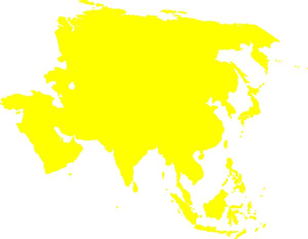 Montessori Asia Continent Map Clip Art At Clker Com