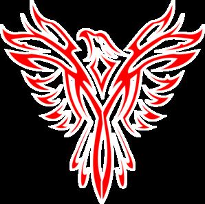 Red Phoenix Clip Art at Clker.com - vector clip art online, royalty ...