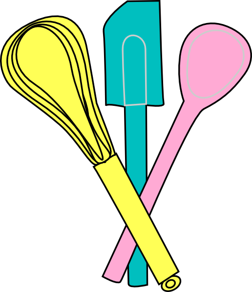 Baking Utensils Clip Art at Clker.com - vector clip art ...