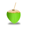 Coconut Drink Clip Art