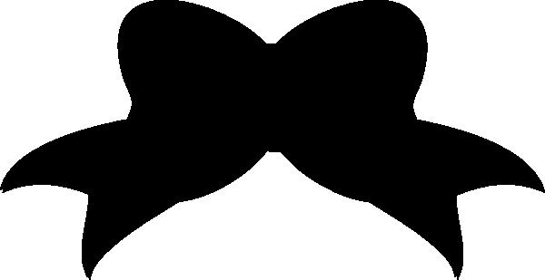Black Bow Clip Art at Clker.com - vector clip art online ...