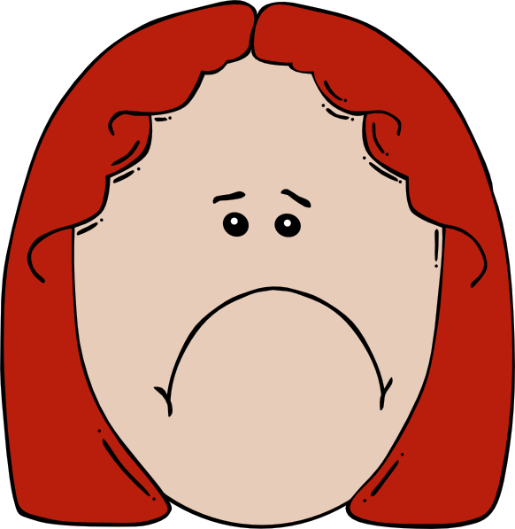 Sad Boy Cartoon Face Cartoon Sad Face Clip Art