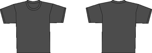 Blank navy blue t shirt template