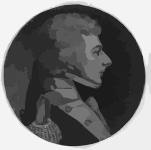 [james Thompson, Head-and-shoulders Portrait, Right Profile] Clip Art