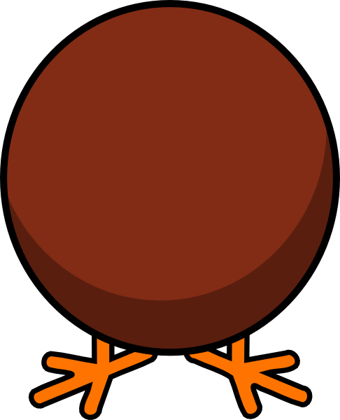 Turkey Body No Feathers Clip Art at Clker.com - vector clip art online ...