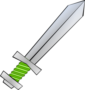 Green Sword Clip Art