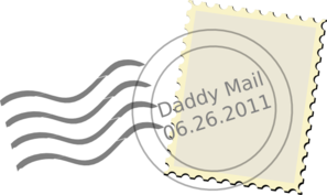 Daddy Mail Clip Art