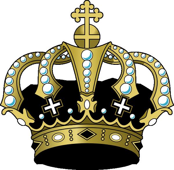 Black Crown Clip Art at Clker.com - vector clip art online ...
