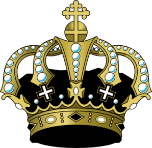 Black Crown Clip Art