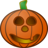 Pumpkin With Smile Clip Art