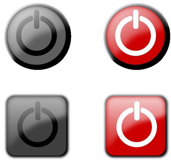 Power Off Buttons Clip Art At Clker Vector Clip Art Online