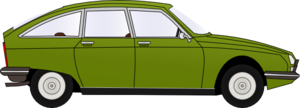 Green Car Clip Art