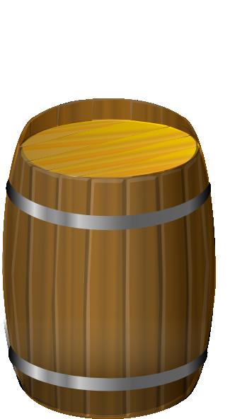 Wooden Barrel Clip Art at Clker.com - vector clip art ...
