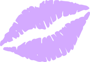 Lips Purple Wedding Clip Art