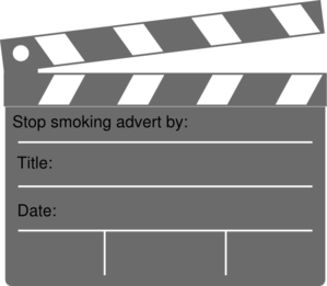 Storyboard Clapperboard Title Clip Art