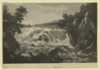 A View Of The Great Cohoes Falls, On The Mohawk River, The Fall About Seventy Feet, The River Near A Quarter Mile Broad Vue De La Grande Cataracte De Cohoes, Sur La Riviere Des Mohawks, La Hateur Est L Environ 70 Pieds, 1 Sa Riviere A Pres L Un Quart De Mile De Large / Sketch D On The Spot By His Excellency Governor Pownal ; Painted By Paul Sandby ; Engraved By Wm. Elliot. Clip Art