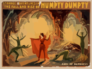 Strange Adventures In The Fall And Rise Of Humpty Dumpty Clip Art