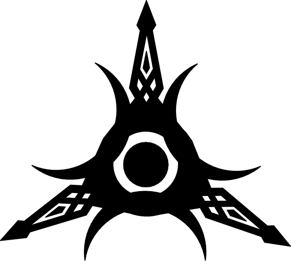 Tribal Edge Tattoo clip art