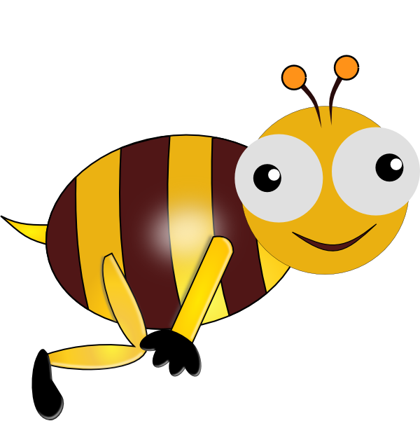bumble bee smiling clip art at clker com vector clip art clip art bumble bee pictures clip art bumble bee pictures