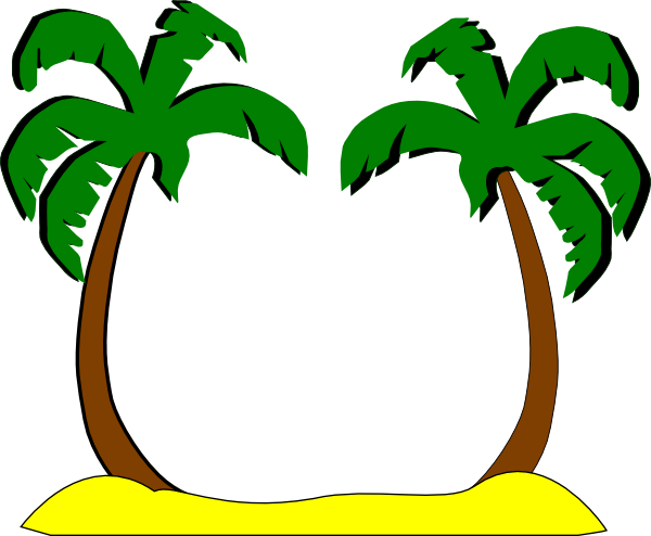 palm tree clip art - photo #27