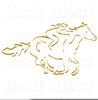 Free Trail Riding Clipart Image