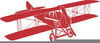 Free Clipart Airplane Banner Image