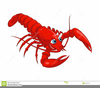 Animated Lobster Clipart Image