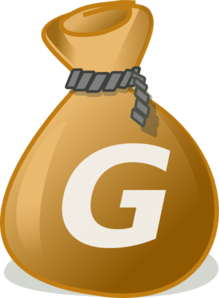 Money Bag2 Clip Art
