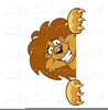 Lions Cartoon Clipart Image