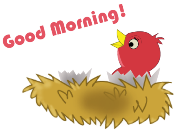 Good Morning Love Bug : Mfl good morning free images at clker vector clip