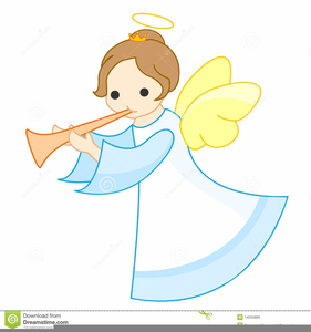 Good Black Baby Angels Clipart Image