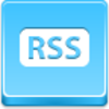 Free Blue Button Icons Rss Button Image