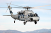 Sh-60s Flies Over The Southern California Mountains During Routine Training Operations Image