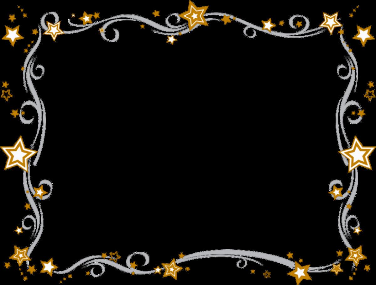 Snowflake Border: Clip Art, Page Border, and Vector Graphics