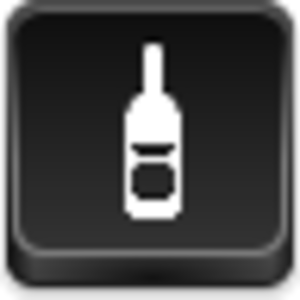 Free Black Button Wine Bottle Image