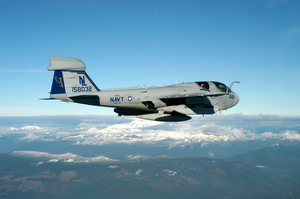 An Ea-6b  Prowler  From Electronic Attack Squadron One Twenty Eight (vaq-128) Image