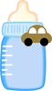 Baby Bottle Clipart Image