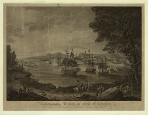 Macdonough S Victory On Lake Champlain  / Painted By H. Reinagle ; Engraved By B. Tanner. Image
