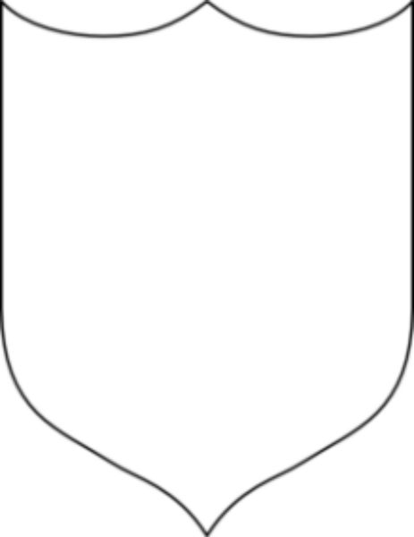 Blank Shield Md | Free Images at Clker.com - vector clip art online ...