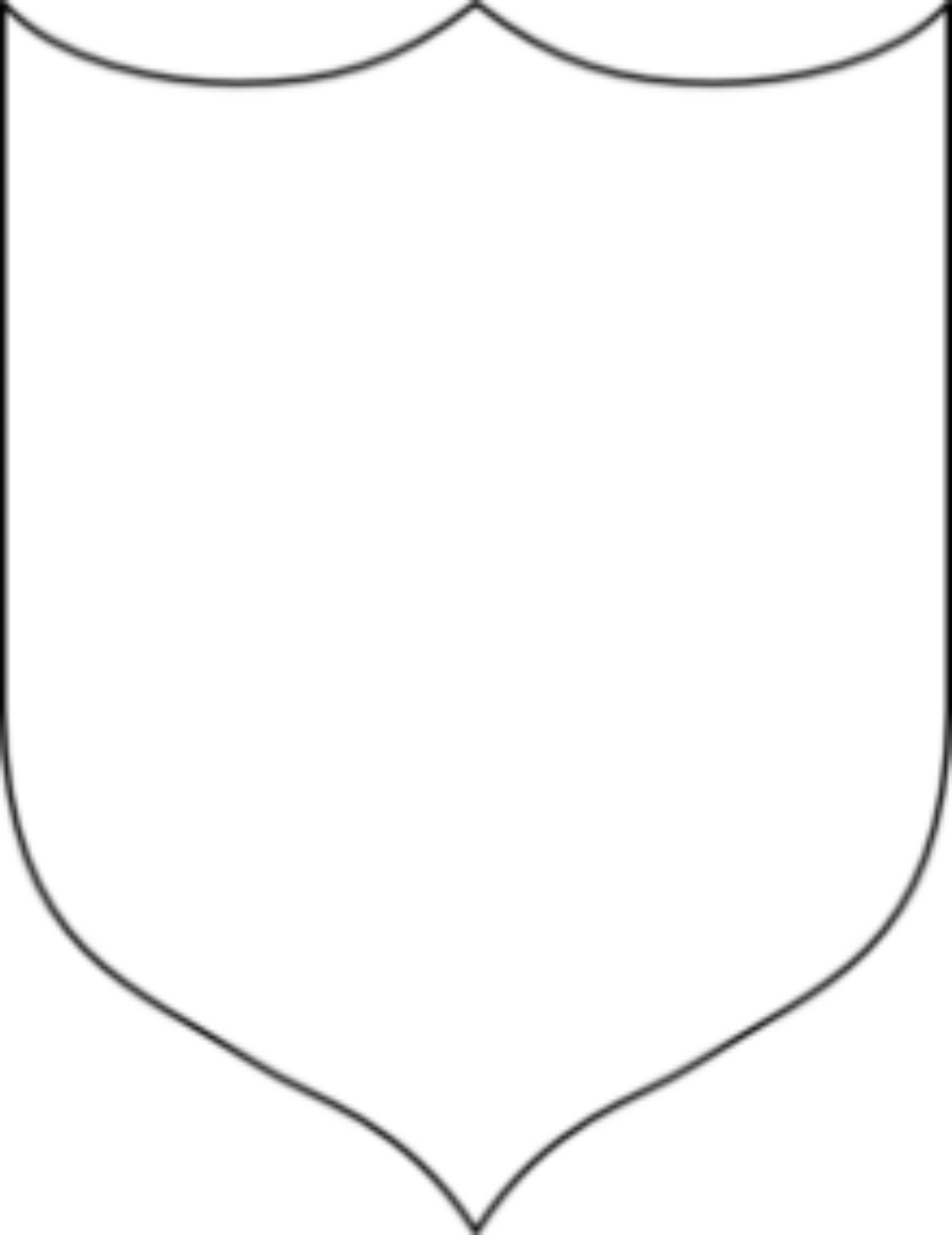 Coat of arms template cyberuse for Blank shield template printable
